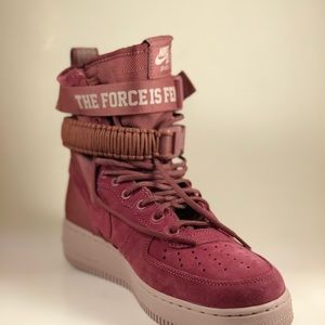 4a9012c1c75 Nike Shoes - Nike Women s SF AF1 Shoes Vintage Wine AJ1700-600